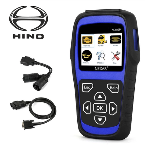 Hino Truck Diagnostic Scanner & DPF Regeneration Tool