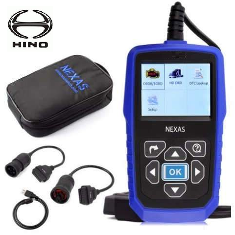 Hino Truck Diagnostic Scanner Fault Code Reader
