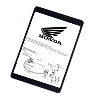 Honda Motorcycle Repair & Service Manual – Choose Your Motorcycle (Instant Access)