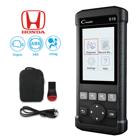 Honda SRS/Airbag, ABS & Engine Diagnostic Scanner Code Reader