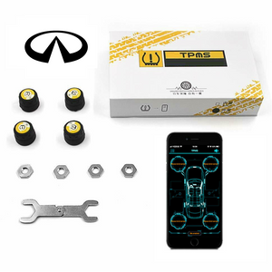 Infiniti Bluetooth Tire Pressure Monitoring System (TPMS)