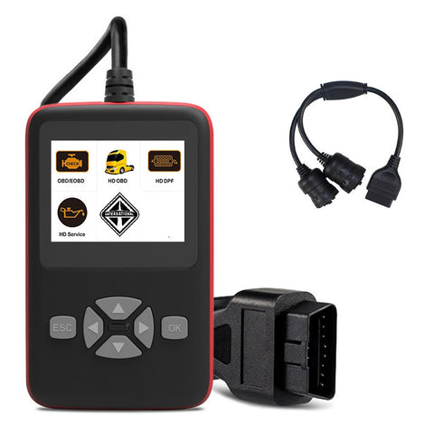 International Truck Diagnostic Scanner, DPF Regen, Oil Reset Tool