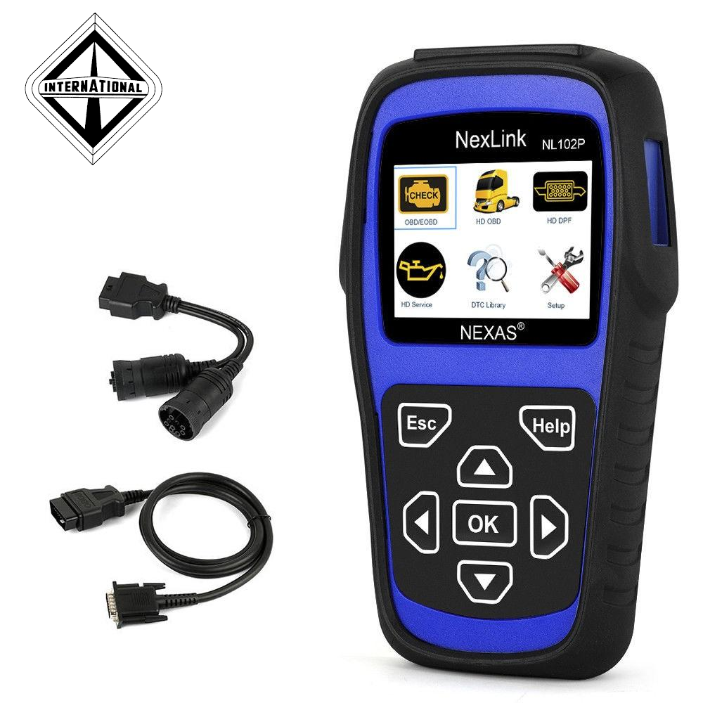 International Truck Diagnostic Scanner & DPF Regeneration Tool