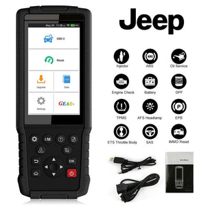 Jeep Diagnostic & DPF Regeneration Tool