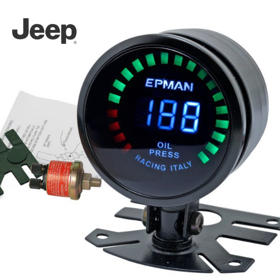 Jeep Oil Pressure Gauge