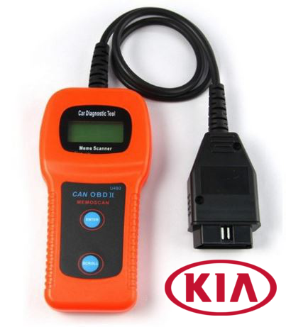 Kia U480 OBD2 Car Diagnostic Scanner Fault Code Reader