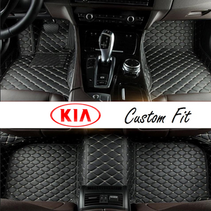 Kia Leather Custom Fit Car Mat Set
