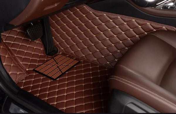 Jeep Leather Custom Fit Car Mat Set
