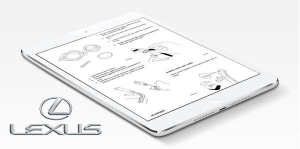 2012 Lexus LFA Repair Manual (Instant Access)