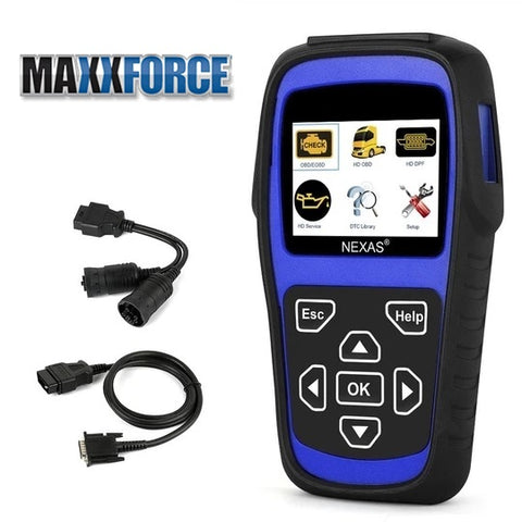 MaxxForce Truck Engine DPF Regeneration Tool