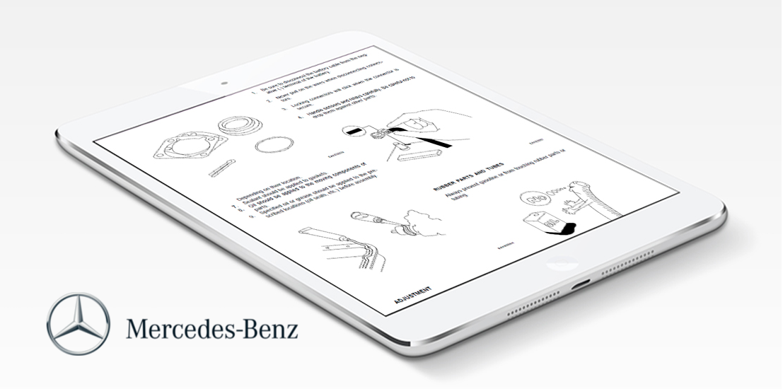 Mercedes Benz Repair & Service Manual – Choose Your Vehicle (Instant Access)