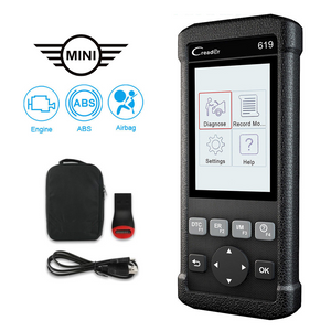 Mini SRS/Airbag, ABS & Engine Diagnostic Scanner Code Reader