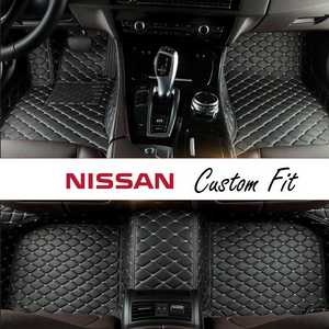 Nissan Leather Custom Fit Car Mat Set