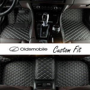 Oldsmobile Leather Custom Fit Car Mat Set
