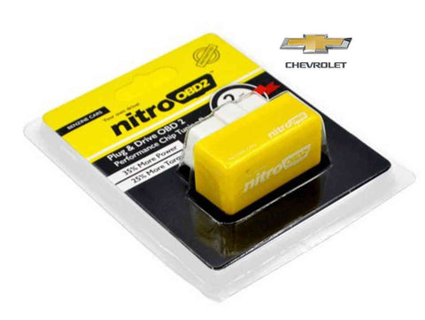 Chevrolet Plug & Play Performance Chip Tuning Box