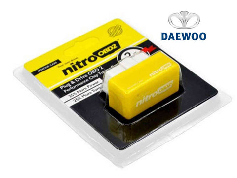 Daewoo Plug & Play Performance Chip Tuning Box