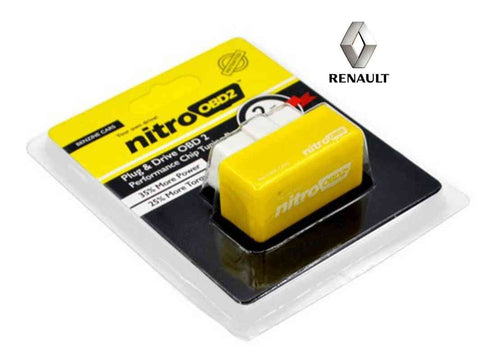 Renault Plug & Play Performance Chip Tuning Box