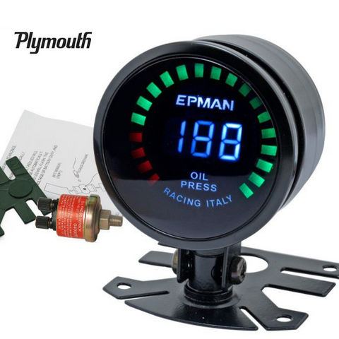 Plymouth Oil Pressure Gauge
