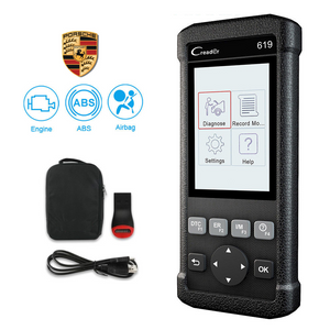Porsche SRS/Airbag, ABS & Engine Diagnostic Scanner Code Reader