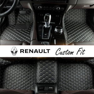Renault Leather Custom Fit Car Mat Set