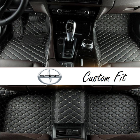Scion Leather Custom Fit Car Mat Set