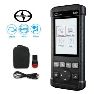 Scion SRS/Airbag, ABS & Engine Diagnostic Scanner Code Reader