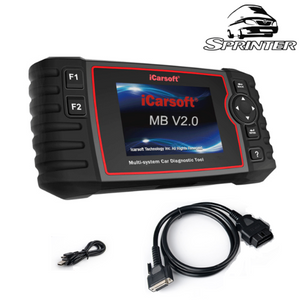 Mercedes Sprinter Diagnostic Scanner & DPF Regeneration Tool
