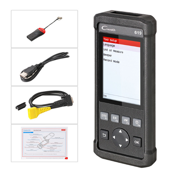 Kia SRS/Airbag, ABS & Engine Diagnostic Scanner Code Reader