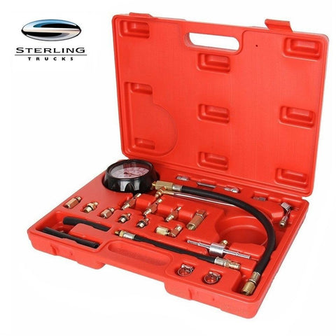 Sterling Truck Fuel Pressure Tester Kit