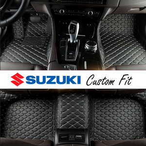 Suzuki Leather Custom Fit Car Mat Set