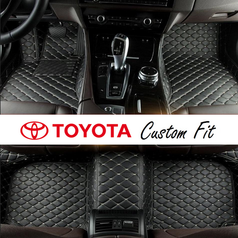 Toyota Leather Custom Fit Car Mat Set