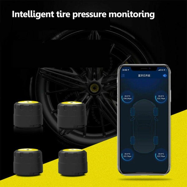 Jeep Bluetooth Tire Pressure Monitoring System (TPMS)