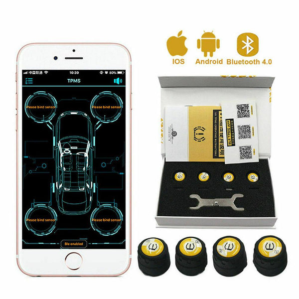 Chevrolet Bluetooth Tire Pressure Monitoring System (TPMS)