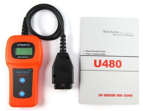 Porsche U480 OBD2 Car Diagnostic Scanner Fault Code Reader