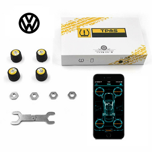 Volkswagen Bluetooth Tire Pressure Monitoring System (TPMS)