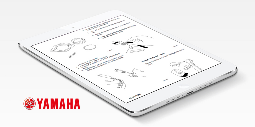 Yamaha Motorcycle Repair & Service Manual