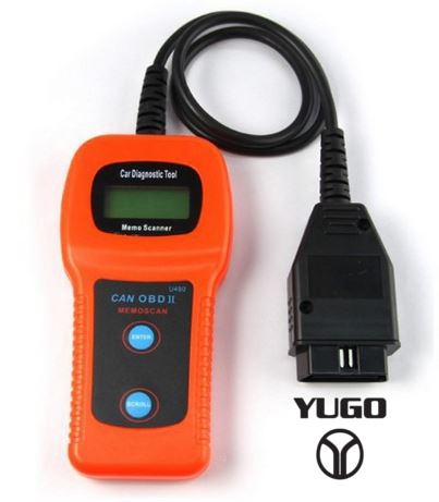 Yugo U480 OBD2 Car Diagnostic Scanner Fault Code Reader