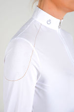 Cavalleria Toscana - Mini CT Laser Beaded Motif S/S Polo