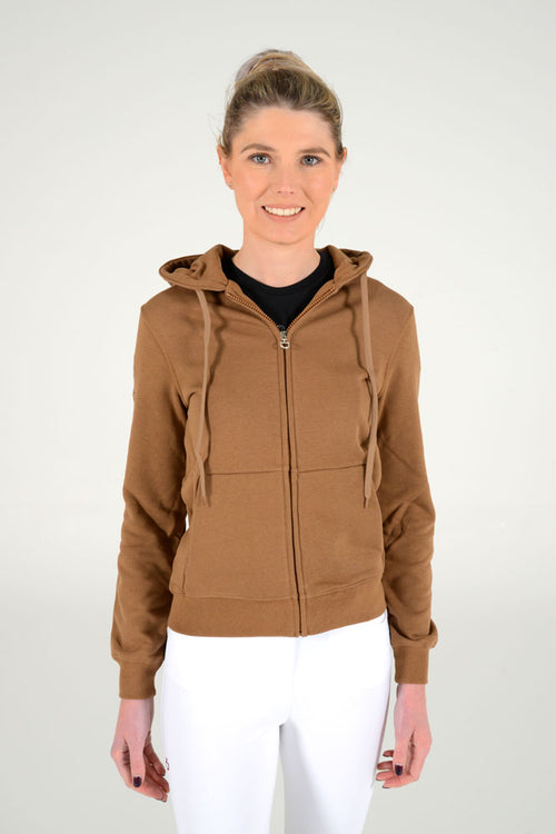 Cavalleria Toscana - Peekaboo CT Hooded Sweatshirt - Coffee