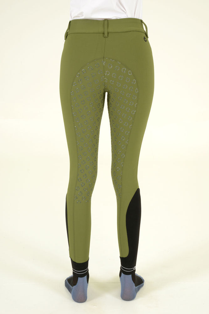 Cavalleria Toscana - American Breeches w/ Perforated Logo Tape - Olive