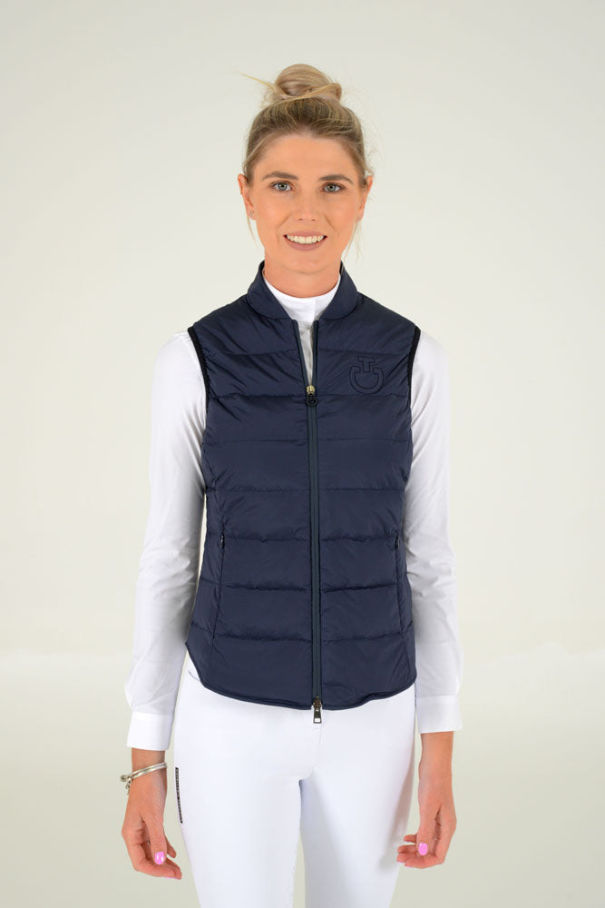 Cavalleria Toscana - R-Lab Nylon Quilted Jacket - Navy