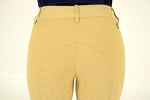 Cavalleria Toscana - American Breeches w/ Perforated Logo Tape - Beige