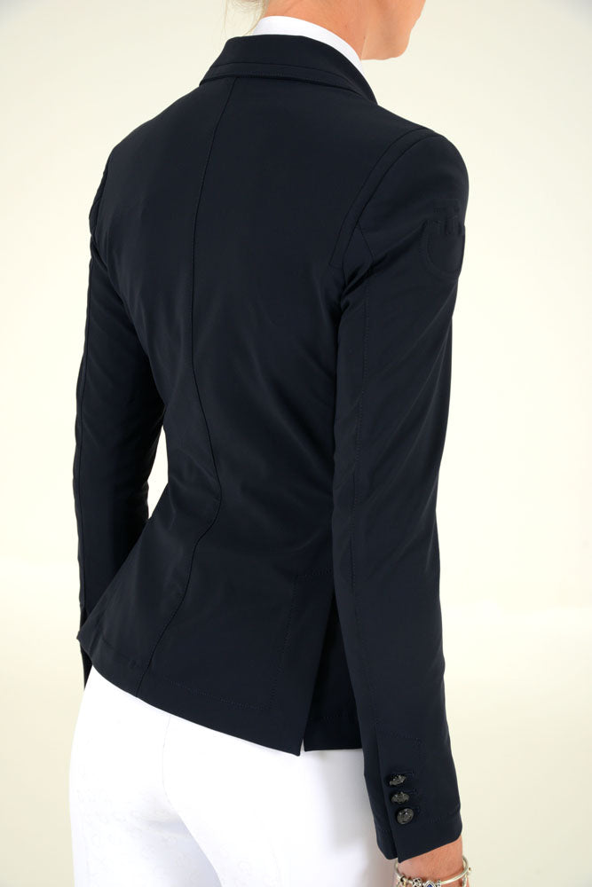 Cavalleria Toscana - Riding Jacket With Micro Print Lining - Navy
