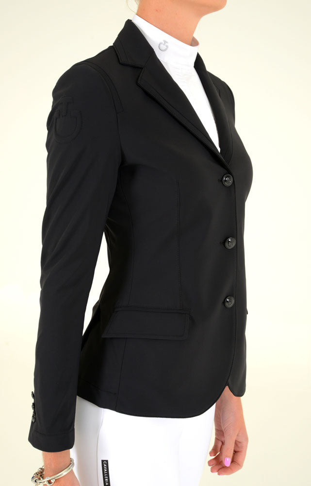 Cavalleria Toscana - Riding Jacket With Micro Print Lining - Black