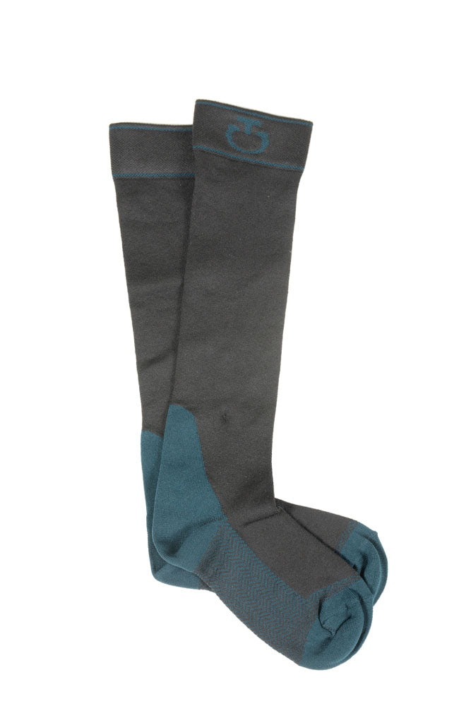 Cavalleria Toscana - CT Work Socks - Black/Moss
