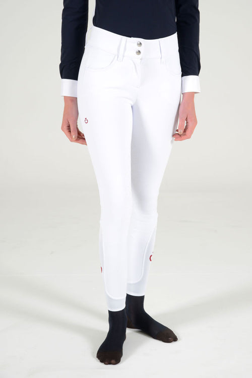 Cavalleria Toscana American Full Grip Breeches - White