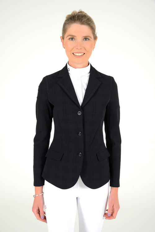 Cavalleria Toscana - Riding Jacket With Micro Print Lining - Plaid Print