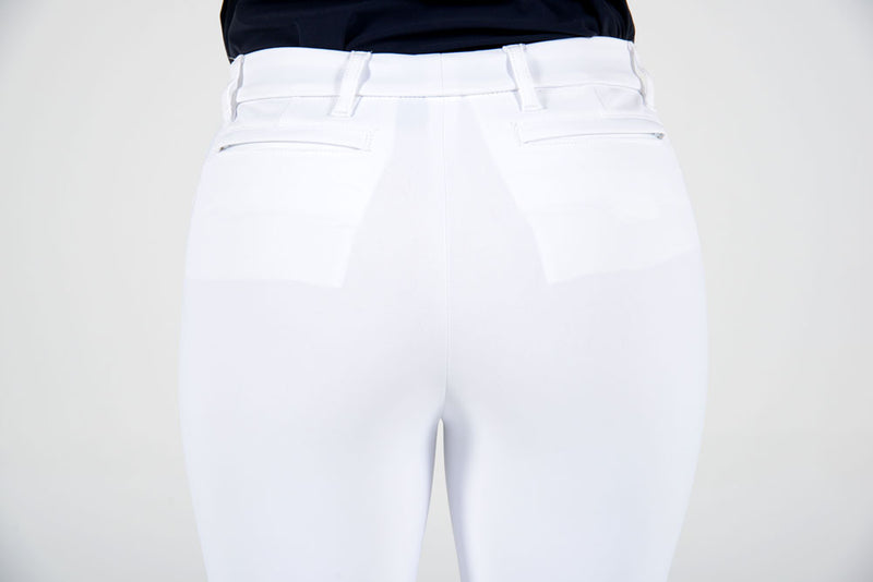 Cavalleria Toscana - Hinomaru CT Riding Breeches - White