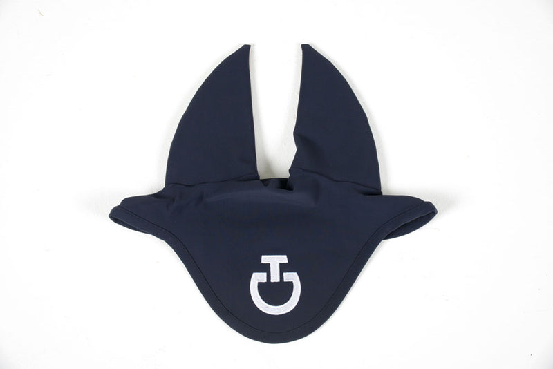 Cavalleria Toscana - Jersey Stripe Soundless Earnet - Navy
