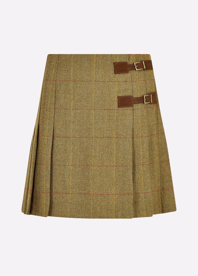 Dubarry Blossom Tweed Skirt - Elm